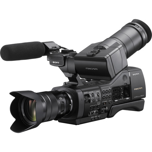 Sony NEX-EA50M NXCAM Camcorder with 18-105mm f/4 Servo Zoom G Lens (Refurbished, Generic Packaging)