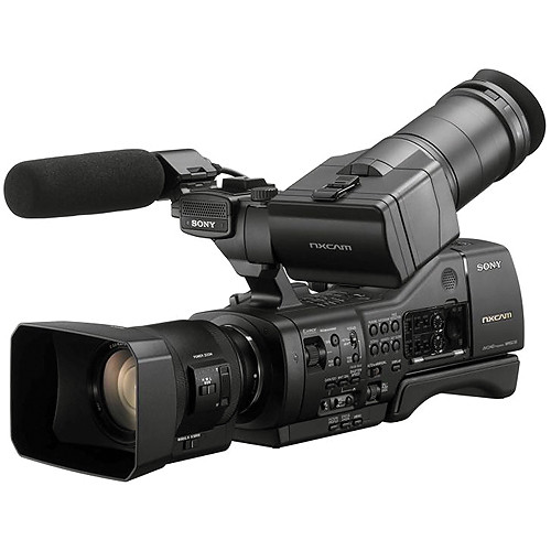 Sony NEX-EA50UH Camcorder with 18-200mm Servo Zoom Lens (Refurbished, Generic Packaging)