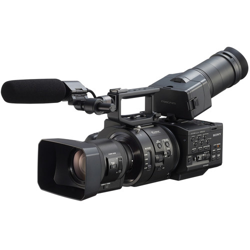Sony NEX-FS700R Super 35 Camcorder with 18-200mm f/3.5-6.3 PZ OSS Lens (Refurbished, Generic Packaging)