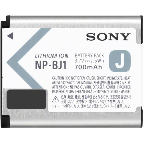 Sony NP-BJ1 3.7V, 700mAh Lithium-Ion Battery