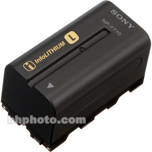 Sony NP-F770 L-Series Info-Lithium Battery Pack (7.2v, 4400mAh)