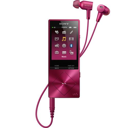 Sony Walkman NW-A26HN - High-Resolution Digital Music Player (32GB, Pink)
