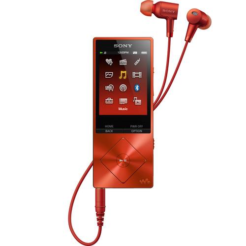 Sony Walkman NW-A26HN - High-Resolution Digital Music Player (32GB, Red)