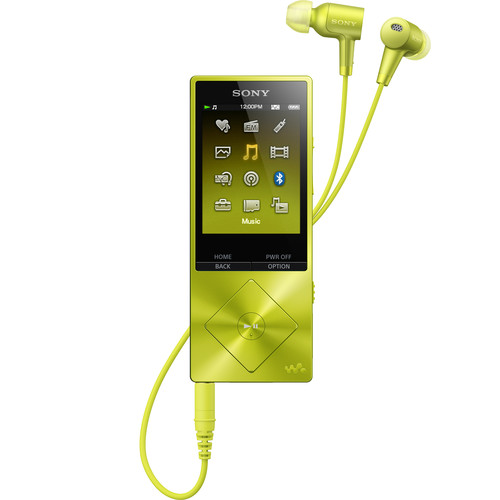 Sony Walkman NW-A26HN - High-Resolution Digital Music Player (32GB, Yellow)