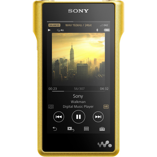 Sony NW-WM1Z Signature Series 256GB - High-Resolution Digital Music Player (Gold Plated)