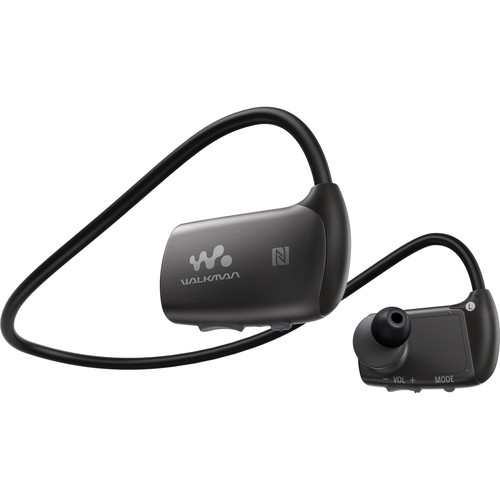 Sony NWZ-WS613 4GB Bluetooth Sports Wearable MP3 Player (Black)
