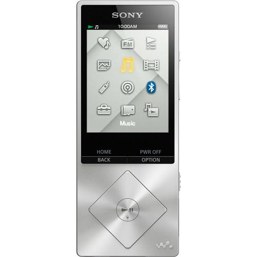 Sony NWZ-A17SLV 64GB Hi-Res Walkman Digital Music Player