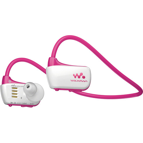 Sony 4GB W Series Walkman Sports MP3 Player (Pink)