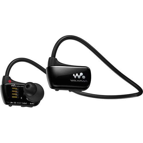 Sony 8GB W Series Walkman Sports MP3 Player (Black)