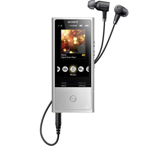 Sony NW-ZX100HN 128GB Hi-Res Walkman Digital Music Player (Silver)
