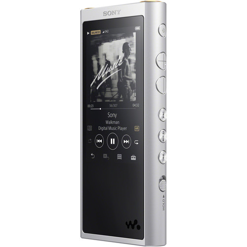Sony ZX300 Walkman Digital Music Player (Silver)