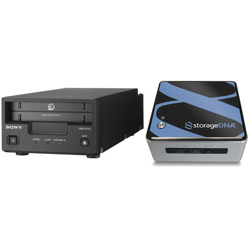 Sony Optical Disc Archive & Storage DNA (Bundle 1)
