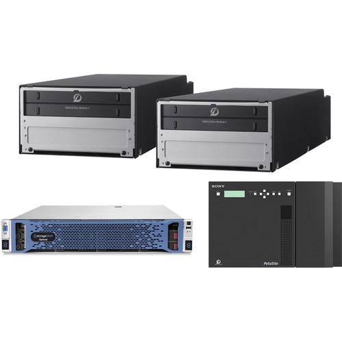 Sony Optical Disc Archive & Storage DNA (Bundle 3)