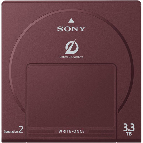 Sony 3.3TB Write-Once Optical Disc Cartridge (Barcode)