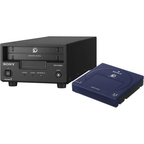 Sony ODS-D380U Gen 3 Optical Disc Archive Desktop Drive
