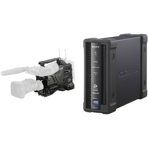 Sony PDW-850 XDCAM Camcorder and PDW-U2 USB 3.0 XDCAM Disc Drive Kit