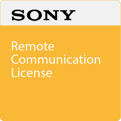 Sony Remote Communication License