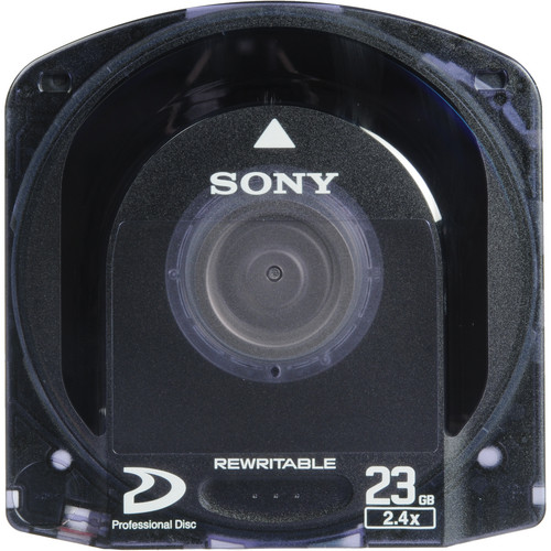 Sony Single Layer Pre-Formatted Rewritable Optical Disc for XDCAM (23 GB)