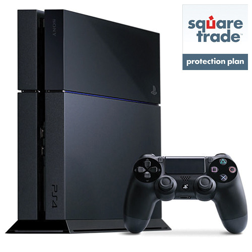Sony Playstation 4 Gaming Console Kit with 2-Year Limited SquareTrade Drops & Spills Warranty