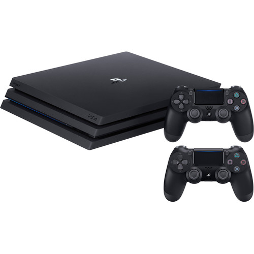 Sony PlayStation 4 Pro Gaming Console & Extra Controller Kit