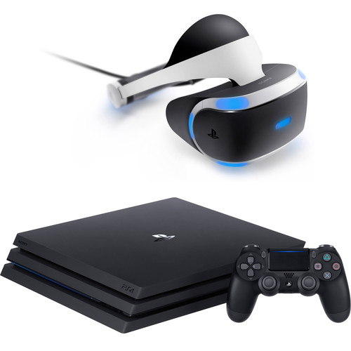 Sony PlayStation 4 Pro Gaming Console & VR Headset Kit