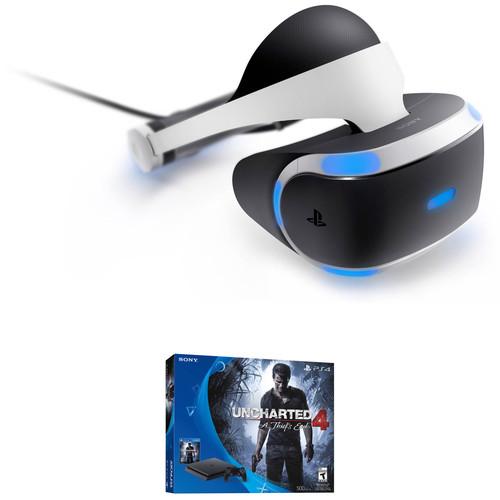 Sony PlayStation 4 Slim Uncharted 4 Bundle & Headset Kit