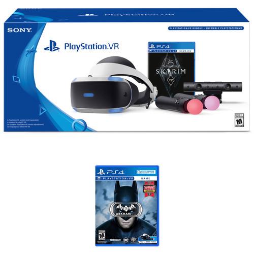 Sony PlayStation VR Skyrim VR Bundle with Batman: Arkham VR