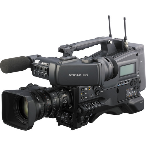"""Sony PMW-400K 2/3"""" XDCAM EX HD Camcorder with Lens & 50 Pin Interface Adapter"""