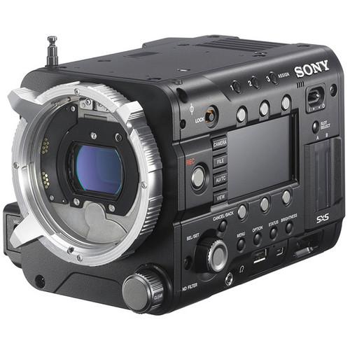 "Sony PMW-F55 CineAlta 4K Digital Cinema Camera Kit with 3.5"" LCD Viewfinder"