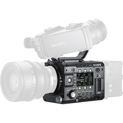 Sony PMWF5ELPROMO PMW-F5 with 4K Upgrade Installed and DVF-EL100 OLED Viewfinder