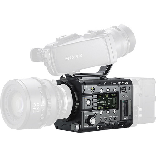 """Sony PMWF5LCDPROMO PMW-F5 with 4K Upgrade Installed and DVF-L350 3.5"""" LCD Viewfinder"""