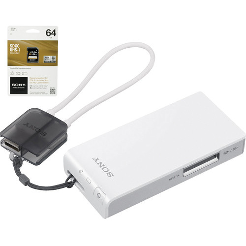 Sony Portable Wireless Server Kit with 64GB SDXC Card