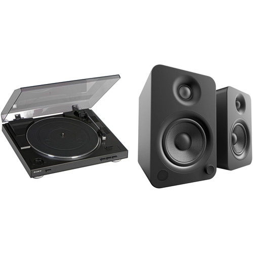 Sony PS-LX300USB USB Stereo Turntable and Powered Speakers Kit