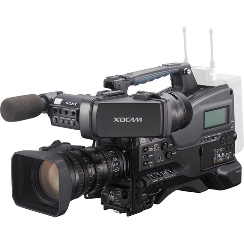 Sony PXW-X320 XDCAM Solid State Memory Camcorder with Fujinon 16x Servo Zoom Lens & 50-Pin Camera Interface Unit