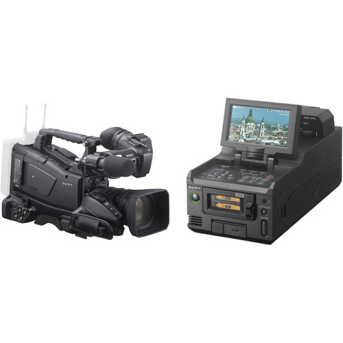 Sony PXW-X400 XDCAM Camcorder with 16x Auto Focus Zoom Lens and Dual Slot Memory Card Reader