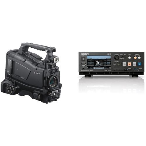 Sony PXW-Z450 4K/UHD Camcorder and PMW-PZ1 4K SxS Memory Card Player Kit