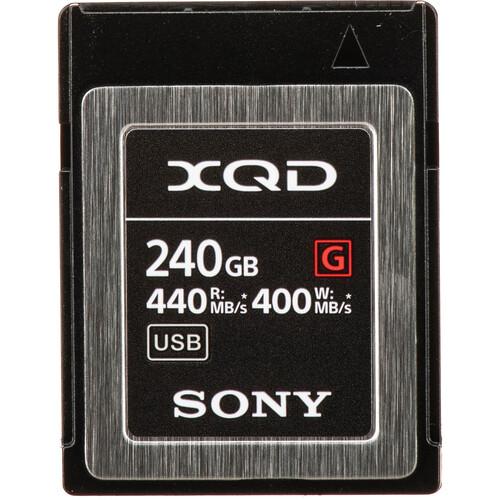 Sony 240GB G Series XQD Memory Card