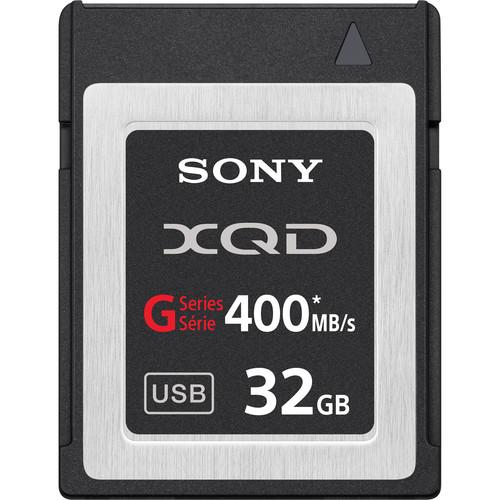Sony 32GB G Series XQD Format Version 2 Memory Card