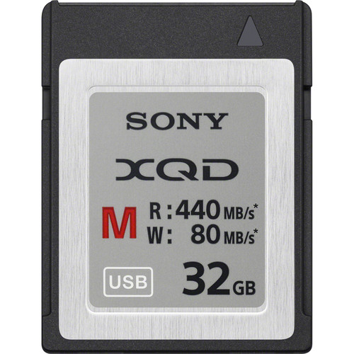Sony 32GB M Series XQD Memory Card
