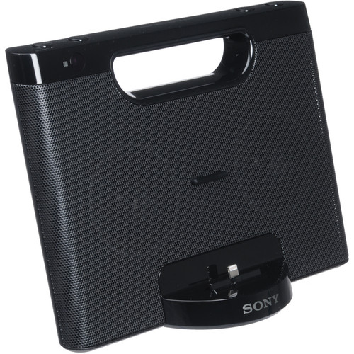 Sony Speaker Dock for Lightning iPod and iPhone (Black)