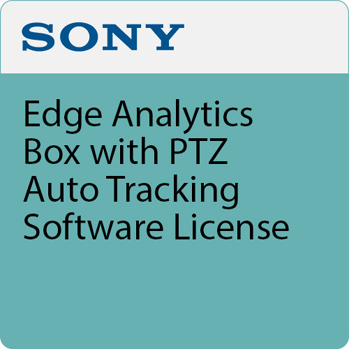 Sony Edge Analytics Box with PTZ Auto Tracking Software License