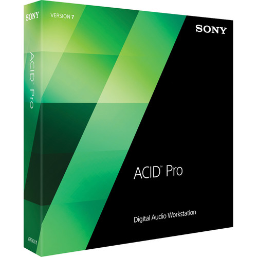 Sony ACID Pro 7 Upgrade - Audio, MIDI and Loop Based Recording Software (Download)