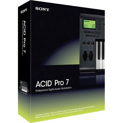Sony ACID Pro 7 - Audio, MIDI and Loop Based Recording Software (Download)