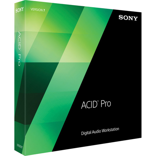 Sony ACID Pro 7 Upgrade - Audio, MIDI and Loop Based Recording Software (Academic Single License Upgrade, Download)