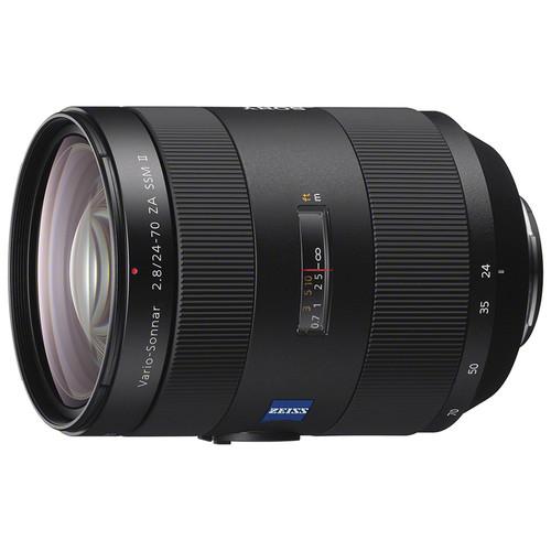 Sony Vario-Sonnar T* 24-70mm f/2.8 ZA SSM II Lens