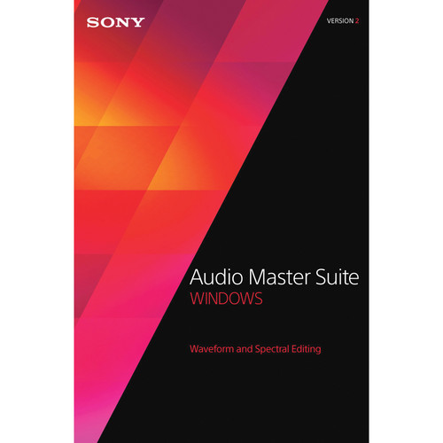 Sony Audio Master Suite 2 Upgrade - Waveform and Spectral Editing Software Bundle (Download)