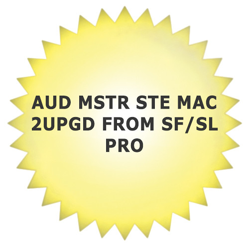 Sony Audio Master Suite Mac 2 Upgrade - Waveform and Spectral Editing Software Bundle for OS X (Boxed)