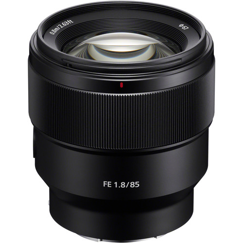 Fe 85mm F/1.8 Lens by Sony