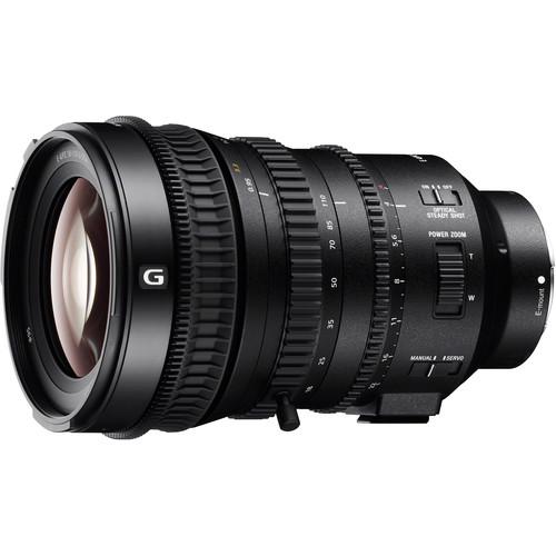 Sony E PZ 18-110mm f/4 G OSS Lens