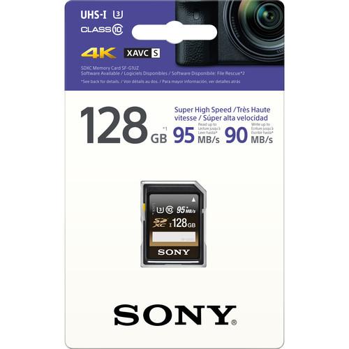 Sony 128GB SF-G1UZ UHS-I SDXC Memory Card